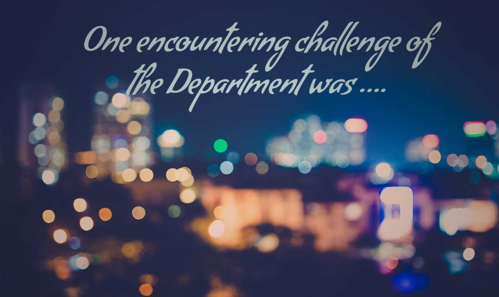 DepartmentChallenge